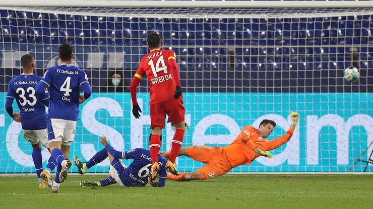 Bundesliga: Bayer wiceliderem, Schalke coraz bliżej negatywnego rekordu