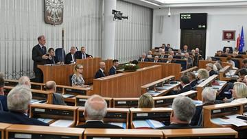 Senat przyjął nowelizację ustawy o sądownictwie. Opozycja do PiS: przekraczacie Rubikon