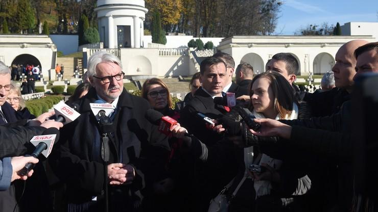 Waszczykowski: politycy niemieccy powinni odciąć się od prób dyscyplinowania Polski