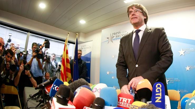 Puigdemont: nie przyjechałem do Brukseli po azyl polityczny