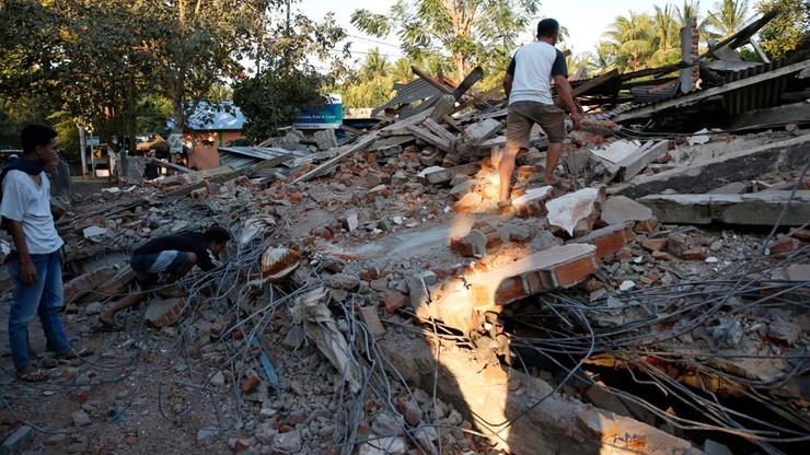 Indonezja: co najmniej czworo Polaków na terenie dotkniętym trzęsieniem ziemi