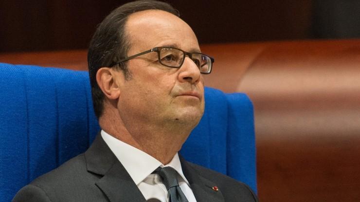 """""""Gorzko żałuję"""". Hollande przeprasza za krytykę wymiaru sprawiedliwości"""