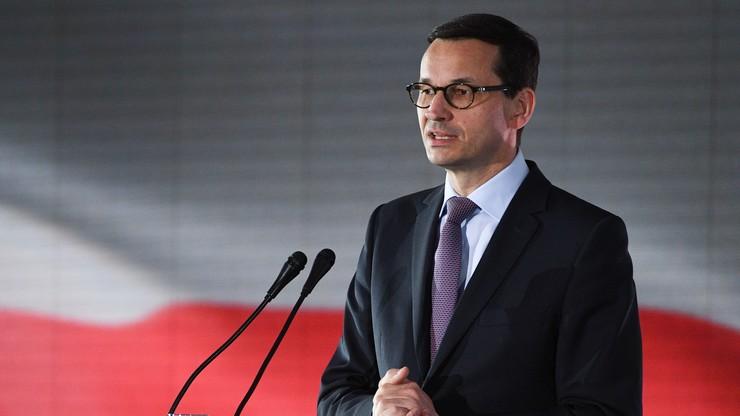 Morawiecki rozmawiał z szefem KE. Jednym z tematów miała być kwestia praworządności