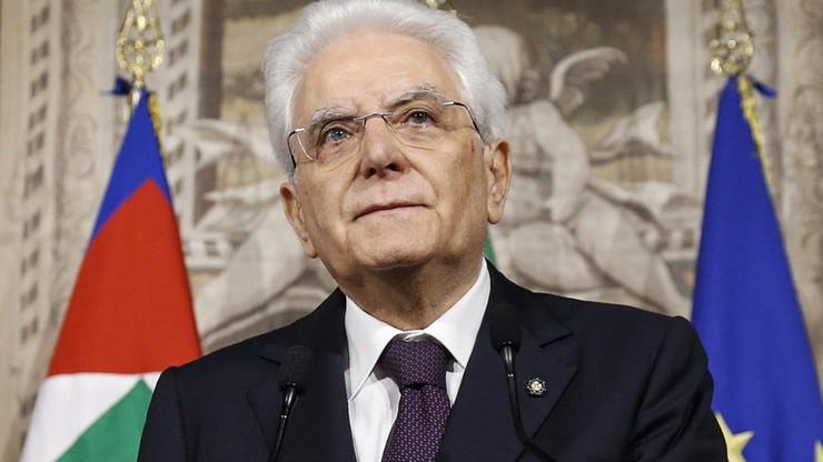 Prezydent Włoch dostaje pogróżki. Nawiązują do jego brata zamordowanego przez mafię