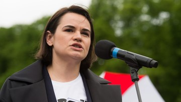 Swiatłana Cichanouska odsłoni pomnik Solidarności w Warszawie