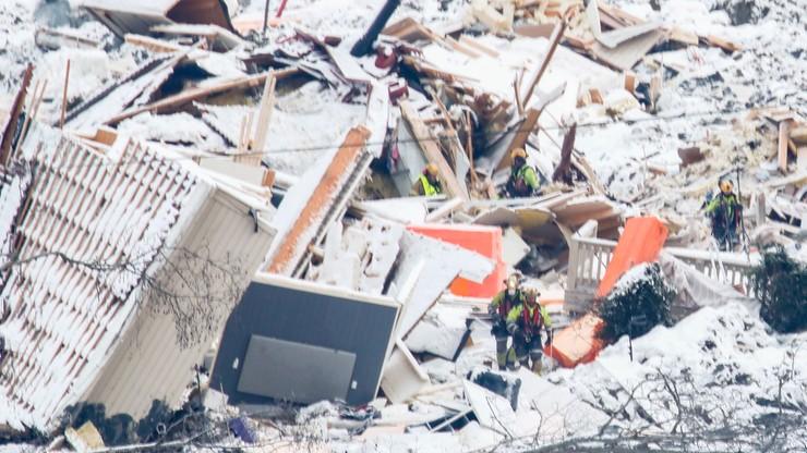 Norwegia: Kolejne osunięcie ziemi. Akcje ratowniczą przerwano