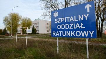 Zakażony koronawirusem wypadł z okna szpitala w Poznaniu. Zginął