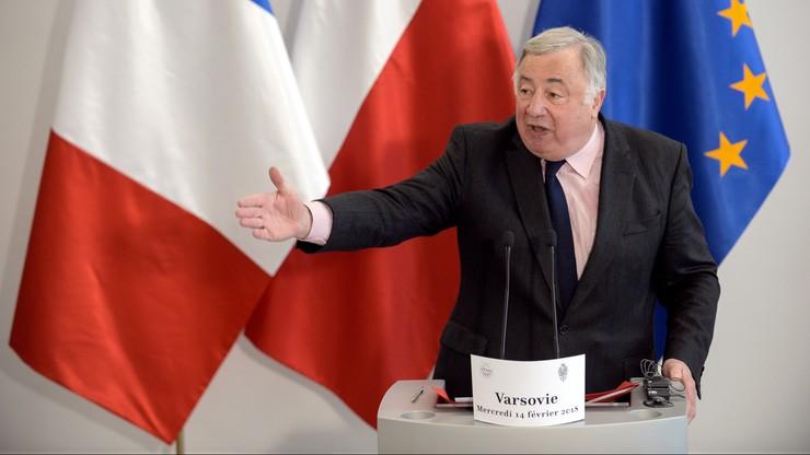 """""""Polska może być wyłącznie ważnym podmiotem UE"""". Przewodniczący Senatu Francji"""