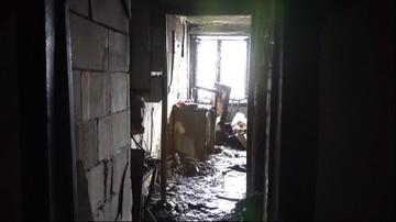 Pożar budynku w Kielcach. Zginęły dwie osoby