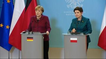 Rozmowa Beaty Szydło z Angelą Merkel. O praworządności, współpracy i Nord Stream2