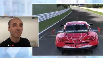 """Kubica szalaje na torze. """"Tradycyjny"""" samochód zmienił na konsolę"""