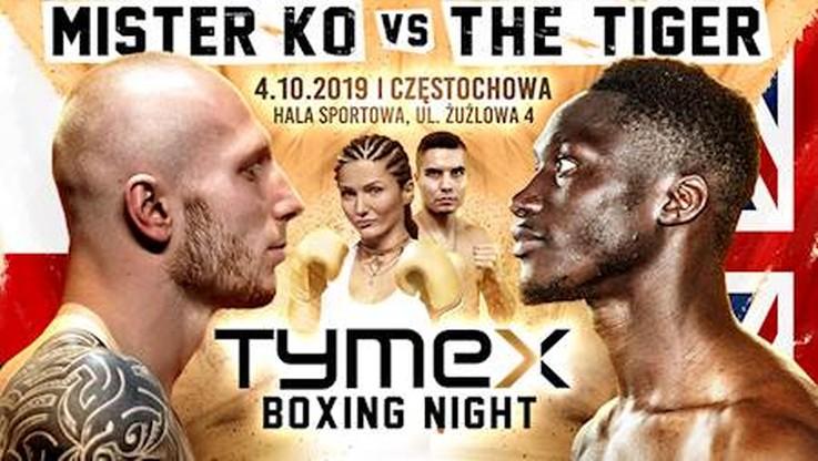 Tymex Boxing Night 9 w Częstochowie: Karta walk