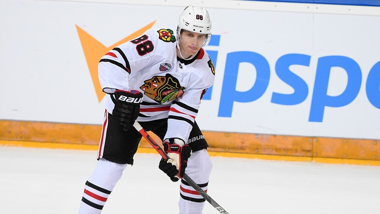 NHL: Zwycięstwo Chicago Blackhawks. Gol numer 400 Patricka Kane'a