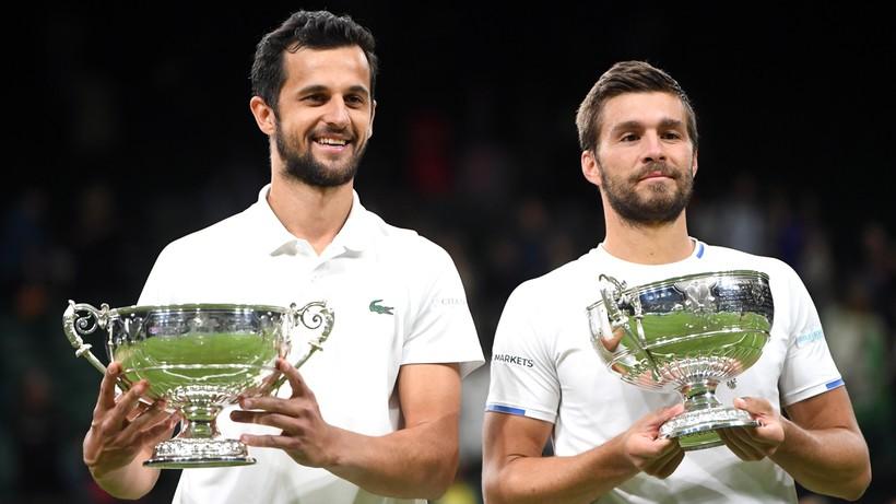 Wimbledon: Mektic i Pavic triumfowali w deblu