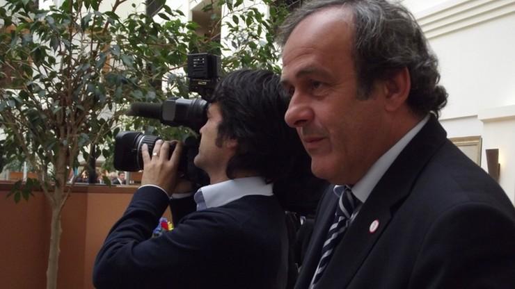 ME: Platini może oglądać mecze razem z oficjelami