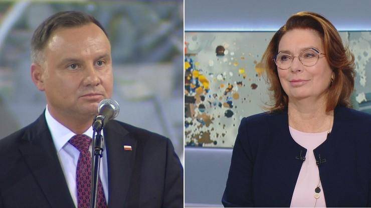 Kidawa-Błońska: debata ma sens, kiedy kandydaci stają 1 na 1