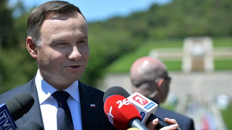 """""""Nie byłoby UE bez przelanej polskiej krwi"""". Prezydent na obchodach 72. rocznicy zakończenia bitwy pod Monte Cassino"""