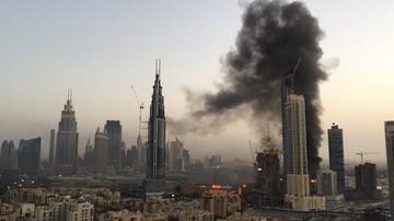 Pożar w pobliżu największego centrum handlowego Dubaju