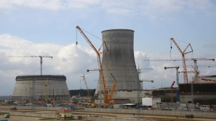 Białoruś stawia elektrownię jądrową niedaleko Wilna. Uruchomi ją za dwa lata