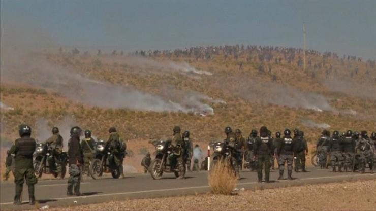Górnicy śmiertelnie pobili wiceszefa MSW Boliwii