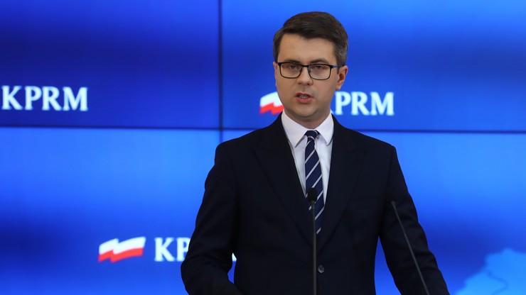 Piotr Müller: liczę, że ustawa ws. muru na granicy szybko trafi na biurko prezydenta