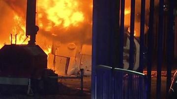 Helikopter rozbił się w pobliżu stadionu Leicester City. BBC: leciał nim właściciel klubu