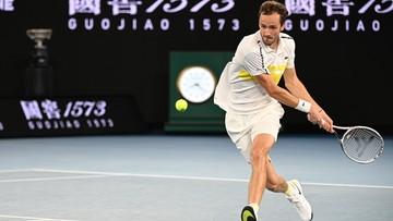 """Ranking ATP: Daniił Miedwiediew pierwszym od 15 lat graczem spoza """"Wielkiej Czwórki"""" w Top2"""