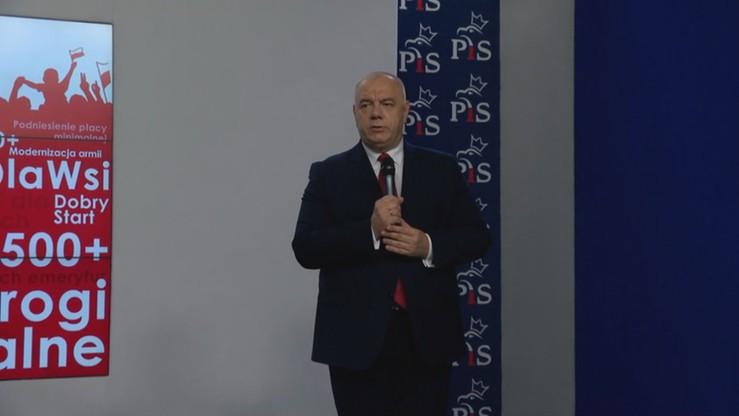 Sasin: prof. Szyszko był obiektem ataków i hejtu