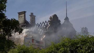 Prokuratura wyjaśnia przyczyny pożaru rektoratu Politechniki Łódzkiej