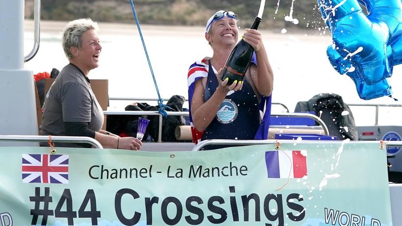 Australijka po raz 44. przepłynęła kanał La Manche