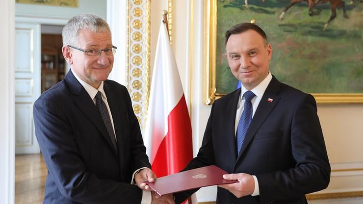 Bogusław Winid nowym doradcą prezydenta. Był wiceministrem w rządzie Tuska
