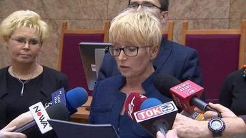 Będzie pozew przeciwko Ziobrze. Zapowiedziała go odwołana  prezes Sądu Okręgowego w Krakowie