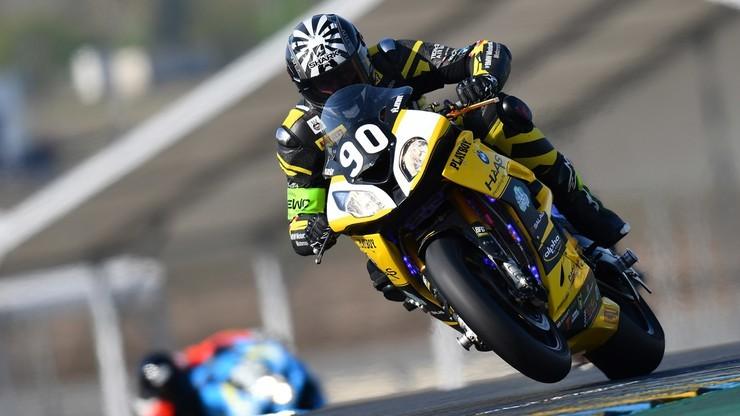 Wyścig motocyklistów w Le Mans bez kibiców