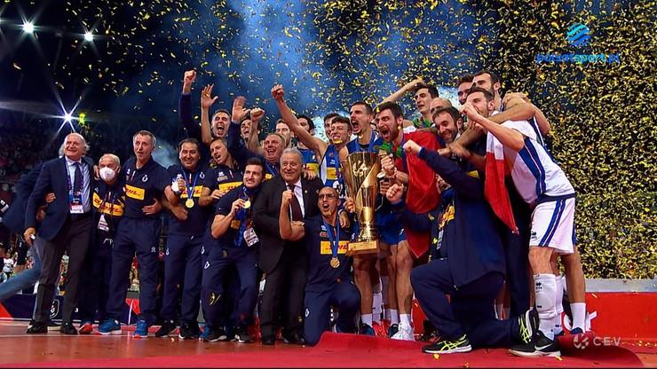 Włosi mistrzami Europy! Ceremonia medalowa