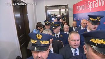 Są zarzuty dla funkcjonariusza Straży Marszałkowskiej. Został zwolniony z pracy
