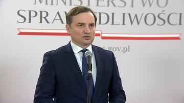 """Ziobro zapowiada Radę Wolności Słowa. """"Kary od 50 tys. do 50 mln zł"""""""