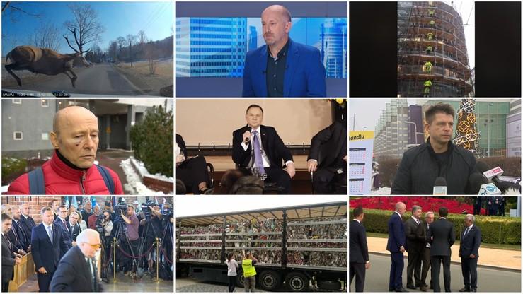 Wałęsa, śpiewający robotnicy, chwiejący się Juncker. Największe hity polsatnews.pl w 2018 roku