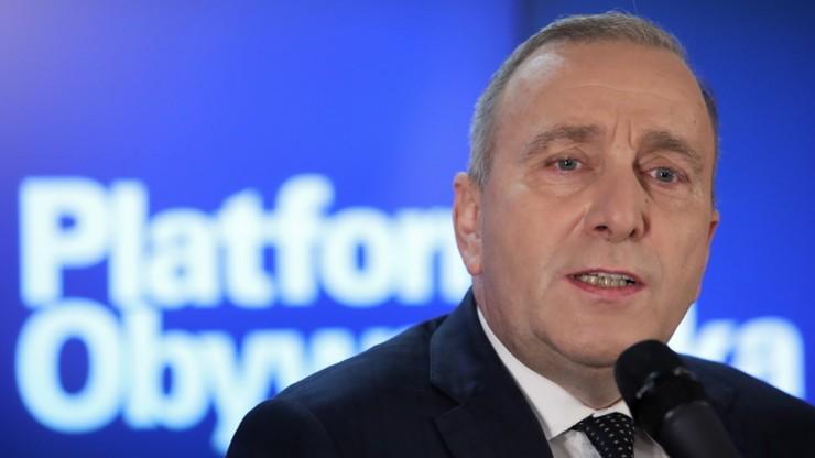 Siemoniak: nie widzę lepszego kandydata na szefa PO niż Schetyna
