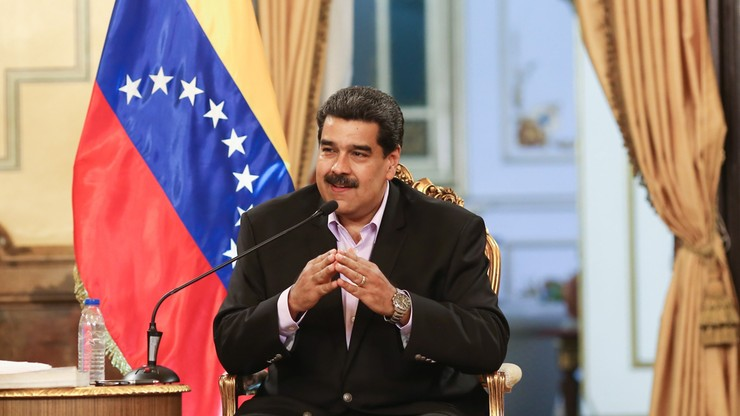 Maduro poprosił papieża Franciszka o pomoc w dialogu w Wenezueli