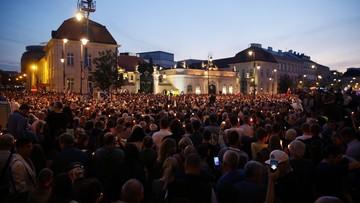 Protesty przeciw reformom sądownictwa. Tłumy przed Pałacem Prezydenckim i Sejmem