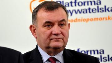 """CBA weszło do domu posła PO Gawłowskiego w Koszalinie. """"PiS się mści za to, że mąż zabrał Rydzykowi 27 mln zł dotacji"""""""