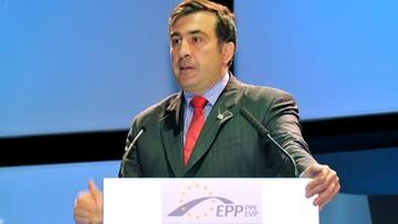 Saakaszwili pojawił się w Telewizji Republika. Gruzińska prokuratura już go oficjalnie szuka w Polsce