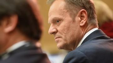 """Tusk: """"grymaszenie"""" ws. mojej drugiej kadencji osłabia Polskę"""
