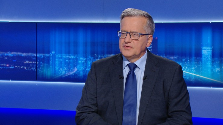 Bronisław Komorowski wróci do polityki. Piotr Zgorzelski potwierdza