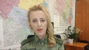 Anna Michalska: reżim Łukaszenki wmawia imigrantom, że przekroczenie granicy jest łatwe