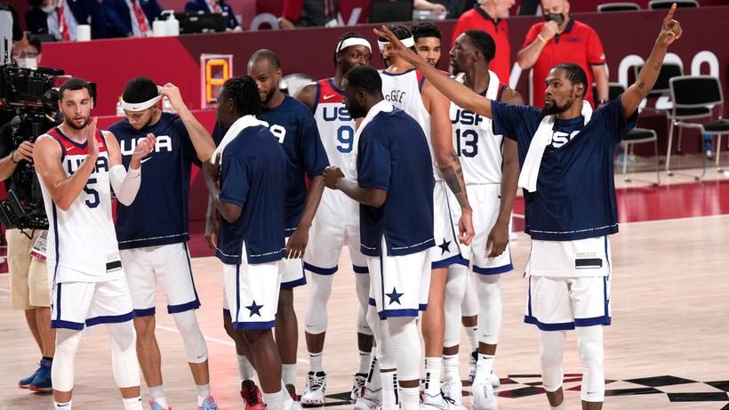 Tokio 2020: Koszykarze USA w półfinale! Ograli mistrzów świata