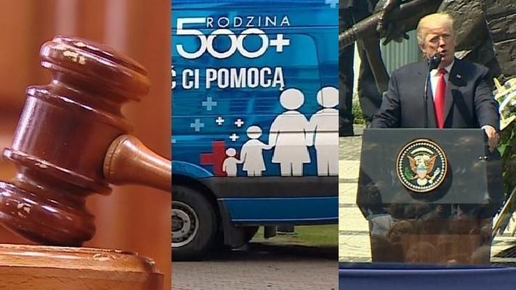 CBOS: reforma sądownictwa i kontynuacja programy 500 plus krajowymi wydarzeniami roku
