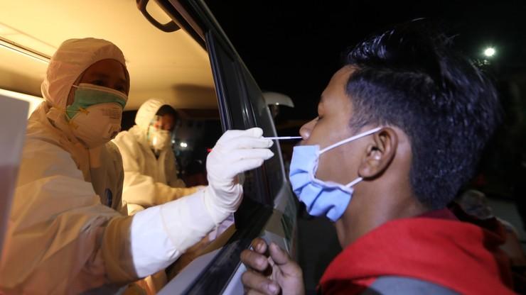 Indonezja. 150 testów na Covid-19 użyli nawet... 20 tys. razy