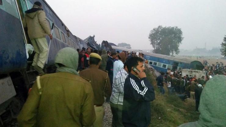 Wzrosła liczba ofiar śmiertelnych katastrofy kolejowej w Indiach
