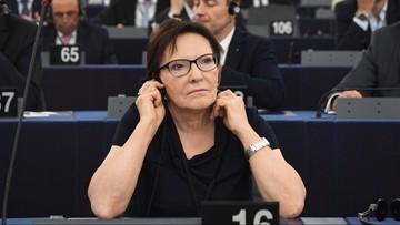 Kopacz wiceprzewodniczącą PE. Stanowiska nie obejmie Krasnodębski